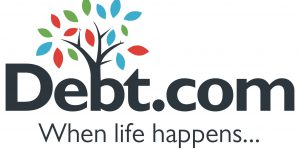 Debt.com is the consumer website where people from all walks of life can find help with credit card debt, student loan assistance, credit monitoring, tax debt, identity theft, credit repair, bankruptcy, debt collector harassment and more. Debt.com works with only vetted and certified providers that give the best advice and solutions for consumers 'when life happens. (PRNewsFoto/Debt.com)